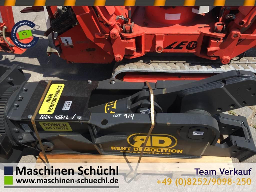 Rent Demolition RD RS 7 Schrottschere 12-18 to Bag