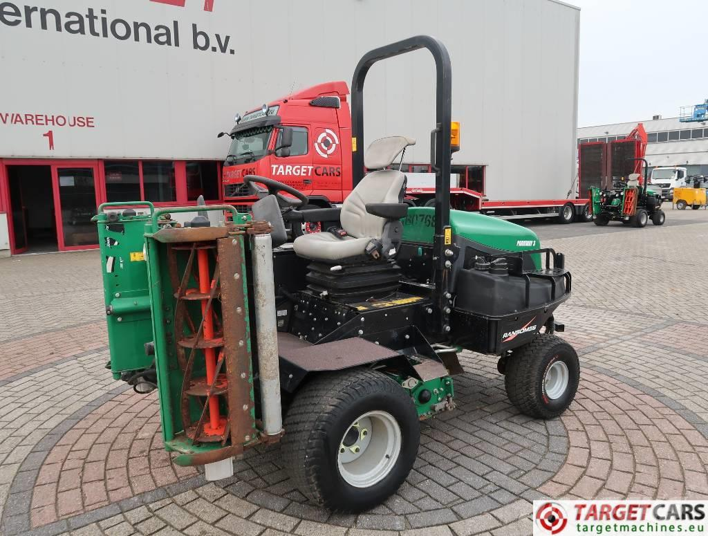 Ransomes Parkway 3 Cylinder 3-Reel Mower 4WD 213cm