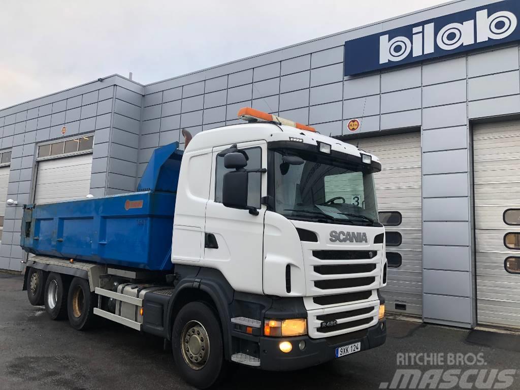 Scania R480LB8X4*4