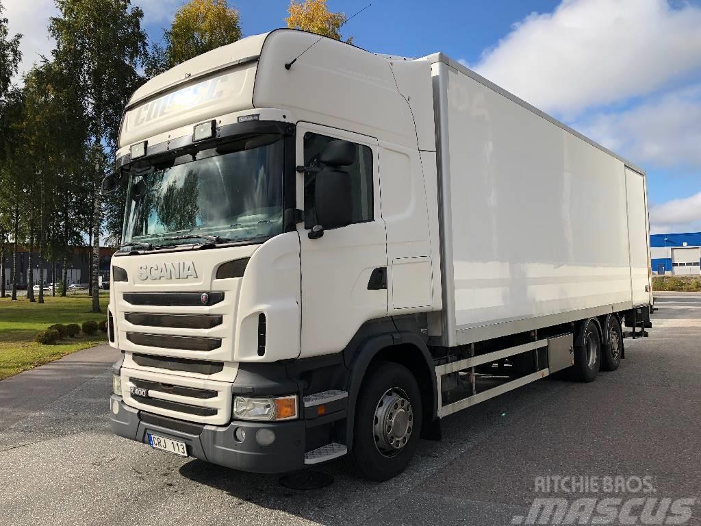 Scania R 400 6x2 skåp  325 000:-