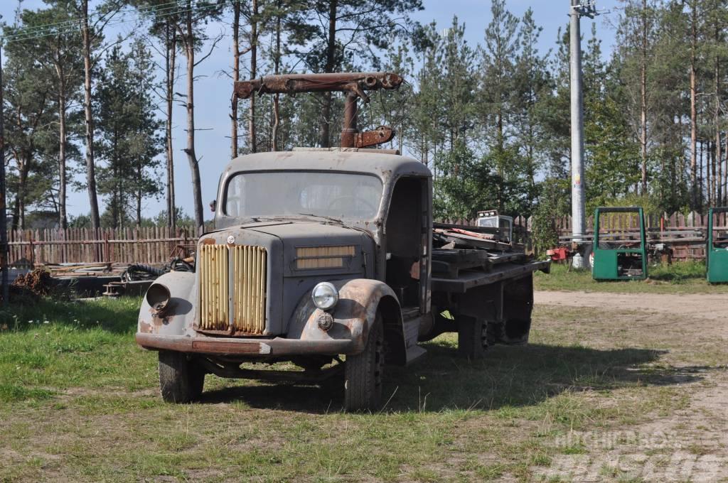 Scania Vabis L51 1954 + VIDEO