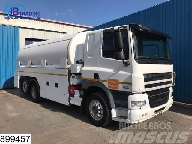 DAF 85 CF 460 Fuel tank, 6x2, 21100 liter, Liquid mete