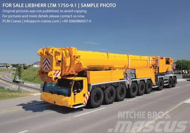 used liebherr ltm 1750 9 1 mobile and all terrain cranes. Black Bedroom Furniture Sets. Home Design Ideas
