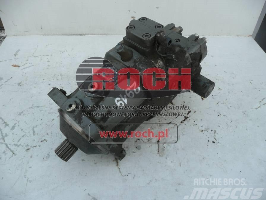 Sennebogen M 821 Silnik A6VM 107
