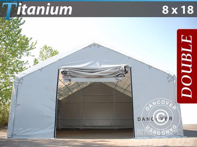 Dancover Storage Shelter 8x18x3x5m PVC, Telthal