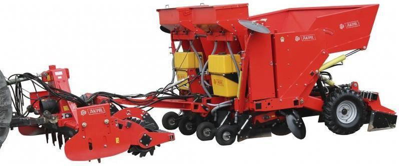 Akpil Tornado Plant Potato Seeder