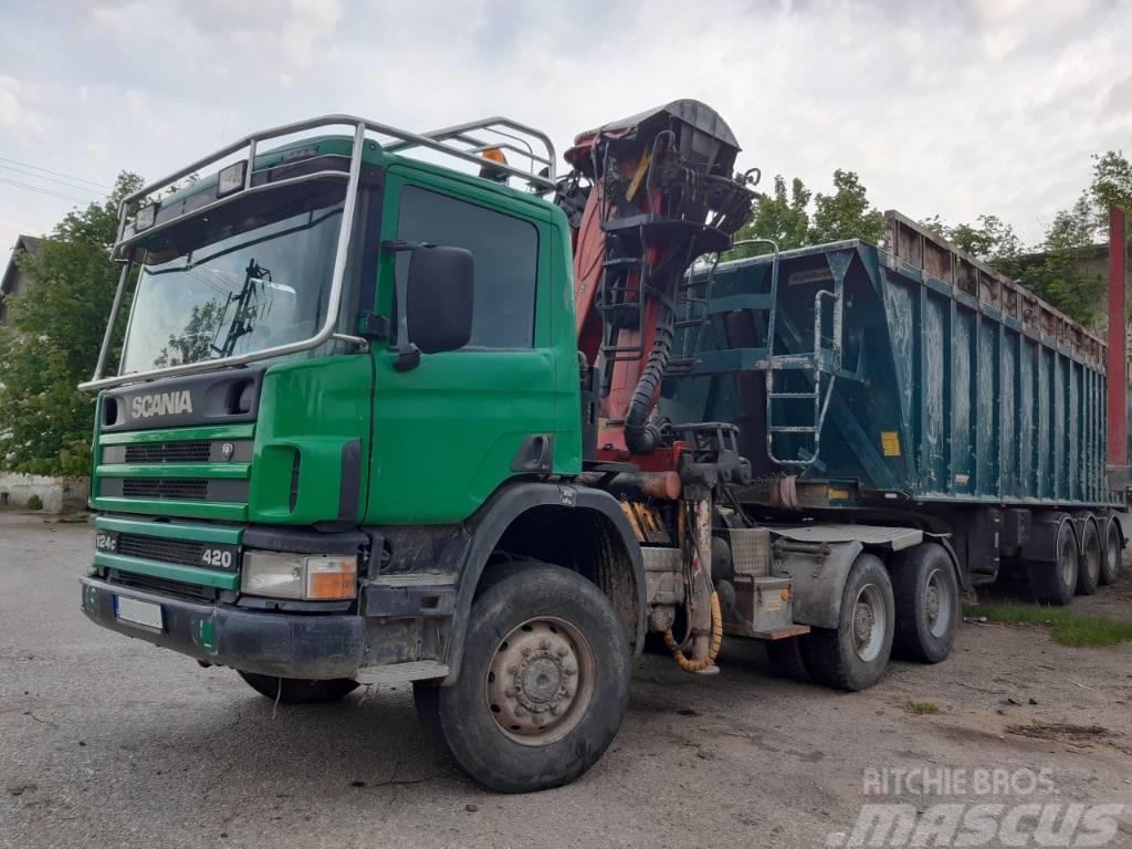 Scania P 124 CB