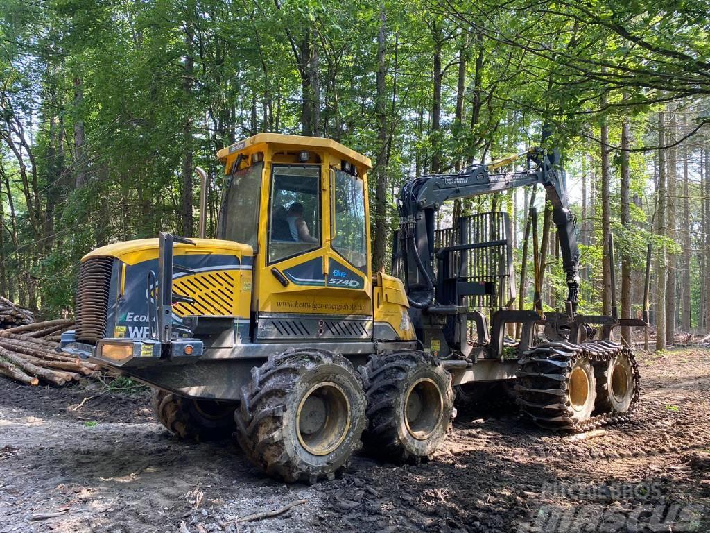Eco Log 574D+ Blue - Gebrauchtmaschine