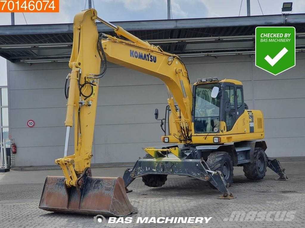 Komatsu PW180- 7E0 NICE AND CLEAN - ALL FUNCTIONS