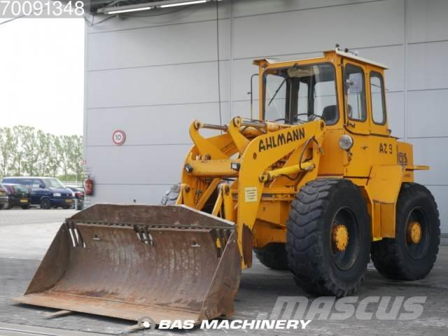 Ahlmann AZ 9 incl bucket and forks