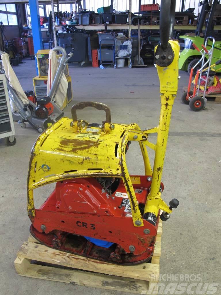 Weber CR 3 Rüttelplatte Bodenverdichter 206 KG