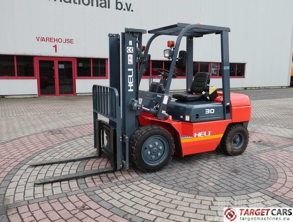 Heli CPCD 3Ton Diesel Duplex-300cm Forklift NEW UNUSED