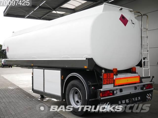 EKW 23.000 Ltr / 5 / FUEL-BENZIN-ADR ROC-23T1A Compart