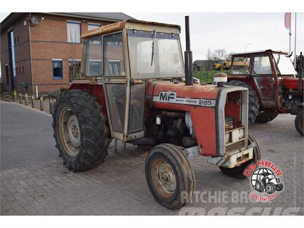 Massey Ferguson 285 Tractor Information : Used massey ferguson tractors year price