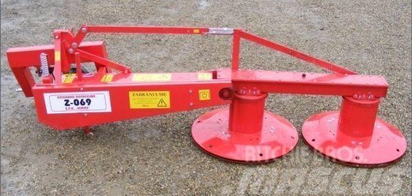 Wirax Lawn Mower/Kreiselmaher/Kosiarka rot. Z-609 1,65m