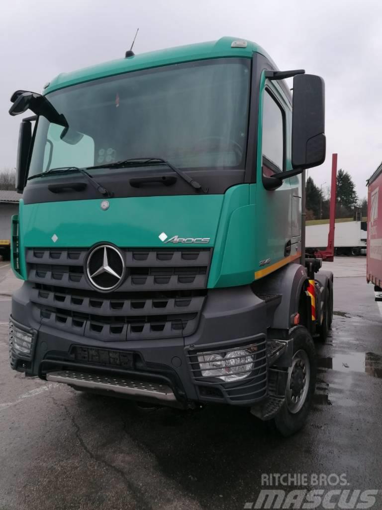 Mercedes-Benz Arocs 3348 6x6, Epsilon Q170Z