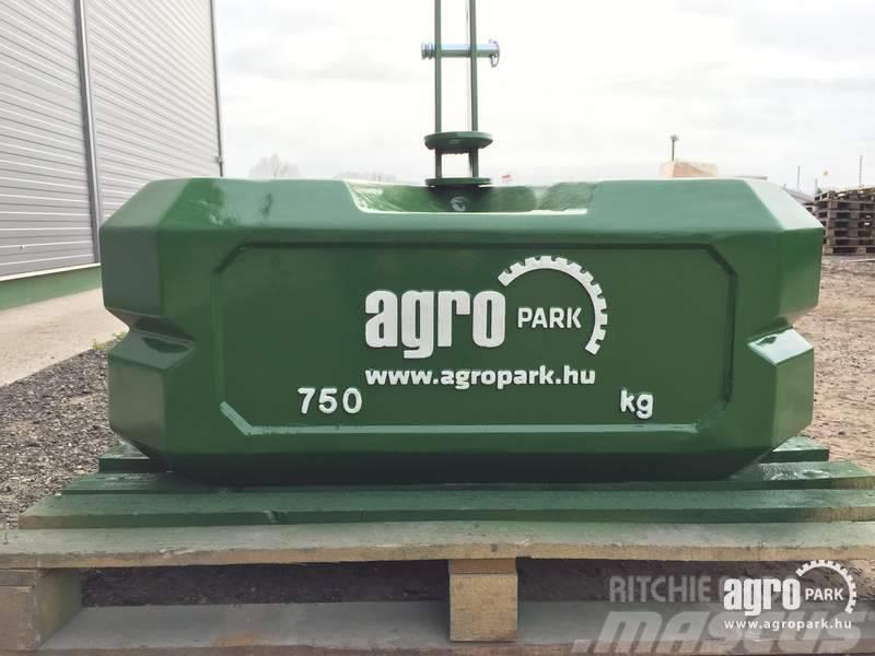Egyéb New AGROPARK 750 kg expandable block weight