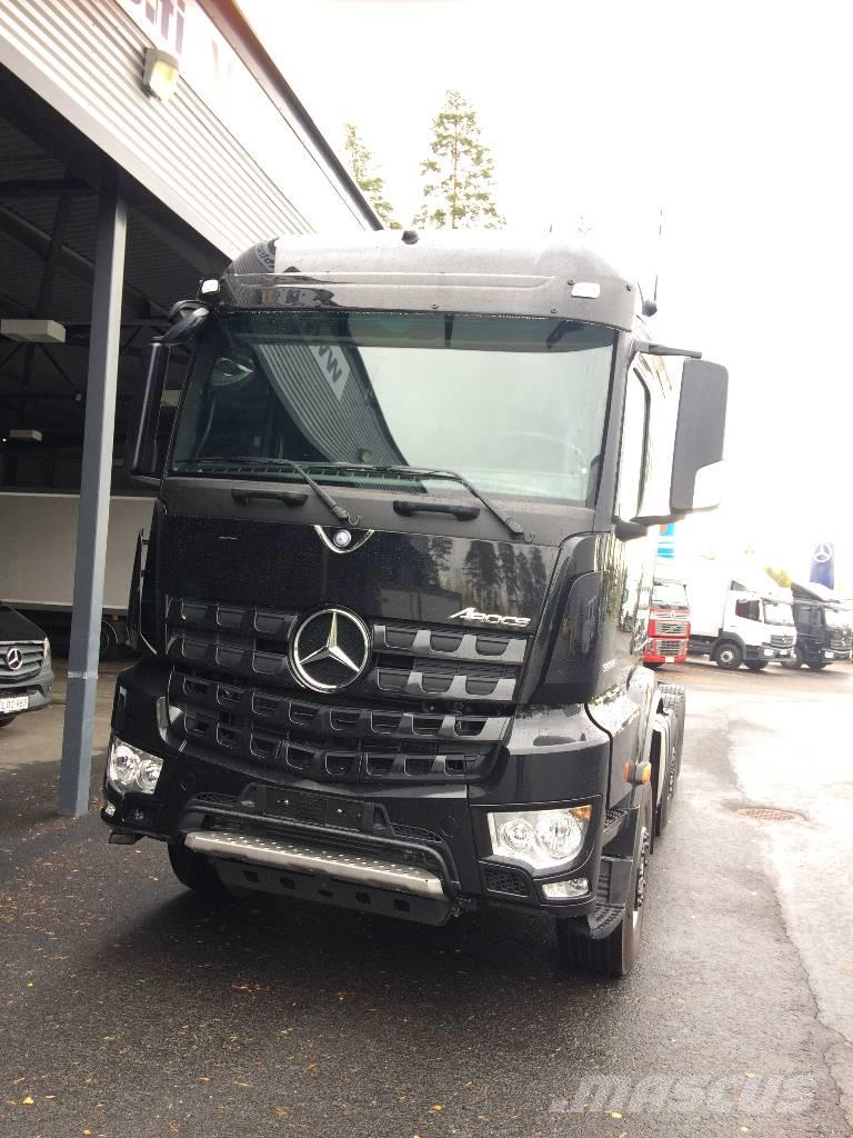 used mercedes benz arocs 3558vla cab chassis year 2017. Black Bedroom Furniture Sets. Home Design Ideas