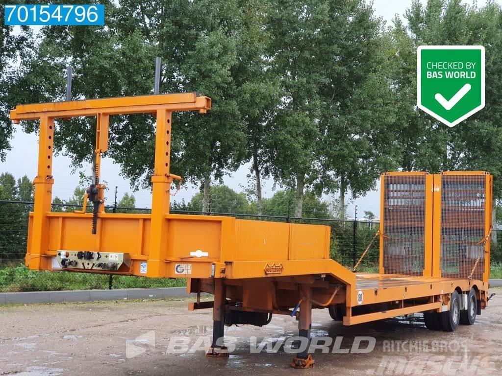 Nooteboom OSD 33-02 Hydr. Rampen Machine-Transporter German-