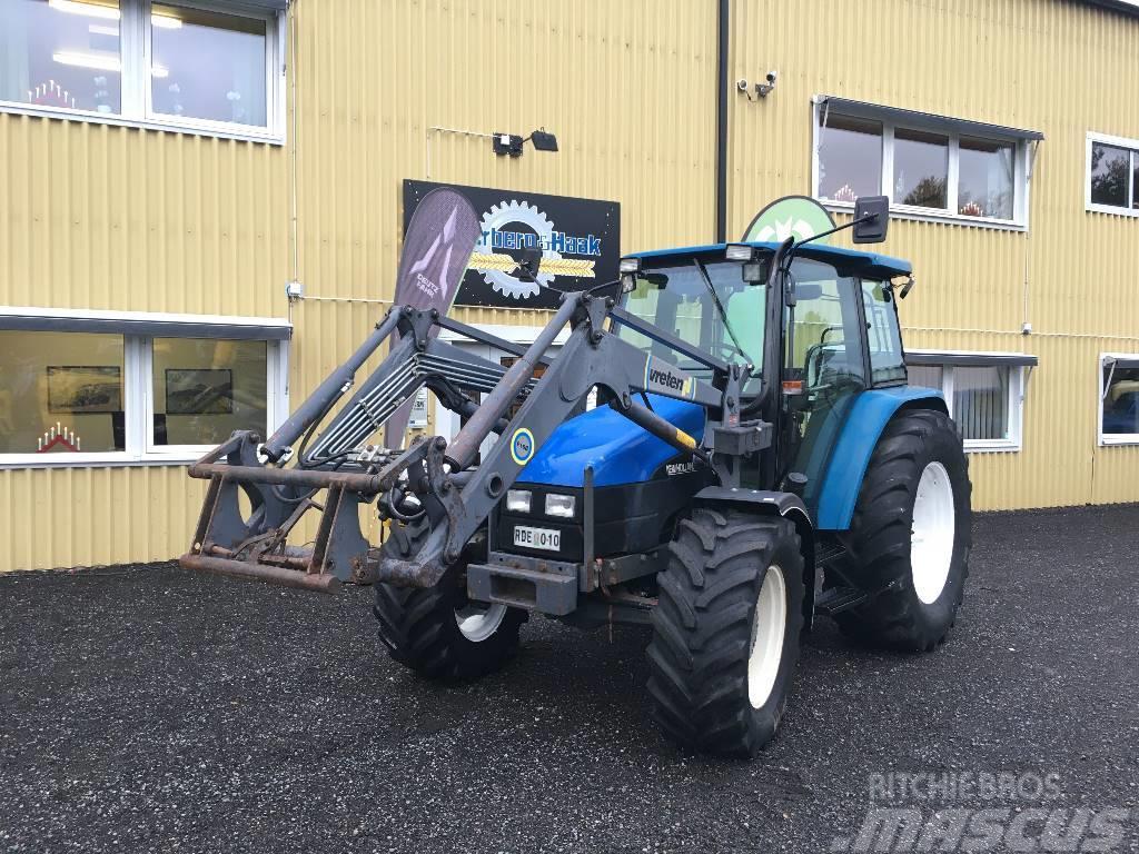 New Holland TL 90 med Lastare