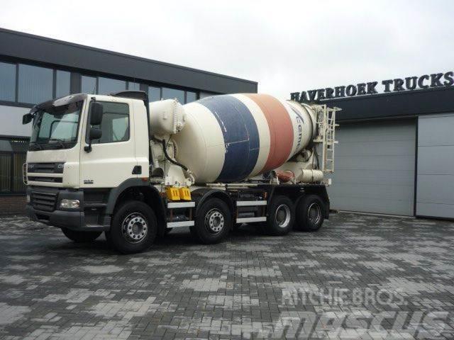 DAF CF 85.360 8x4 Concrete mixer 10.000 Liter