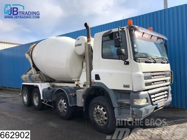 DAF 85 CF 380 8x4, Stetter, Beton / Concrete mixer, Ma