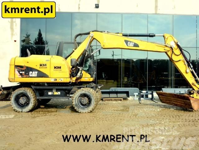 Caterpillar M 313 D JCB JS 145 130 VOLVO EW 140 160