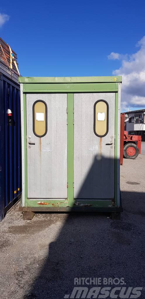 [Other] Wanto 4 x WC Wanto Slamtoalett 4dörrars