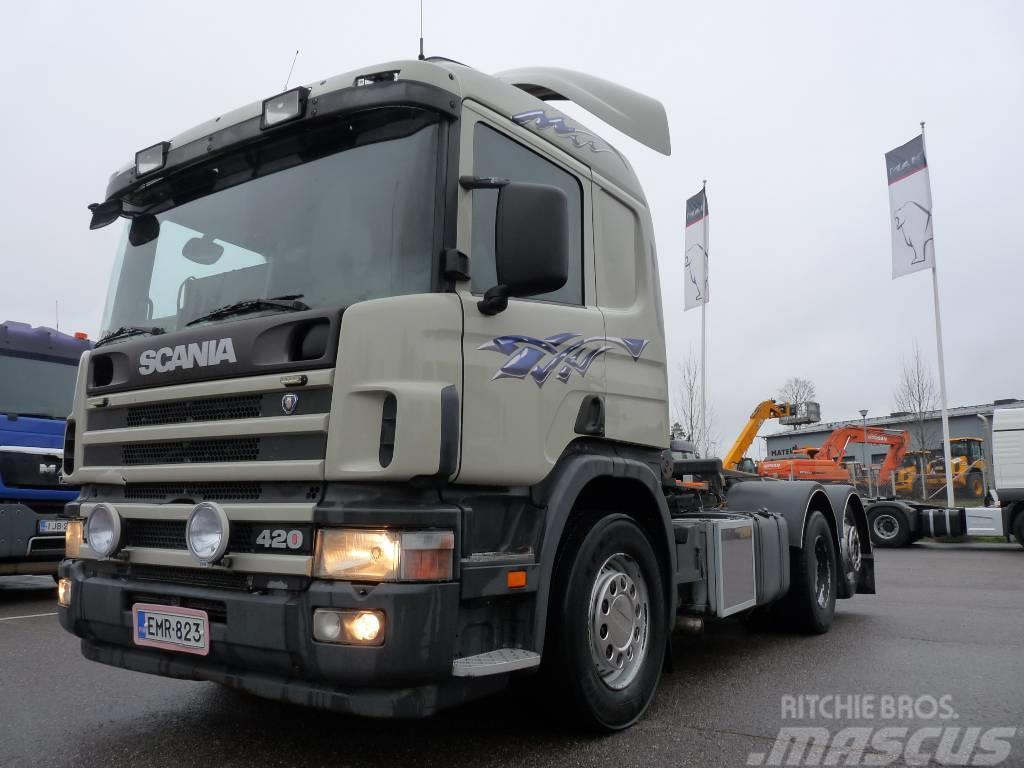 Scania P 124 G 420 6x2