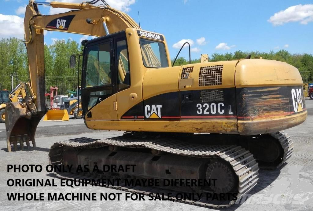 Caterpillar EXCAVATOR 320C ONLY FOR PARTS