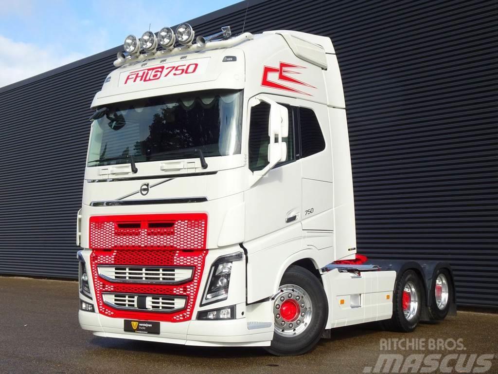 Volvo FH16.750 6x2 / RETARDER / FULL AIR SUSPENSION / 10