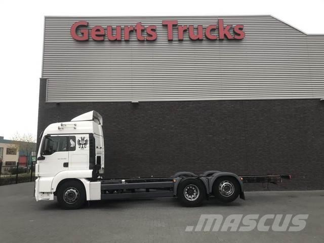 MAN TGS 26.360 6X2-4 LL EEV CHASSIS CABINE
