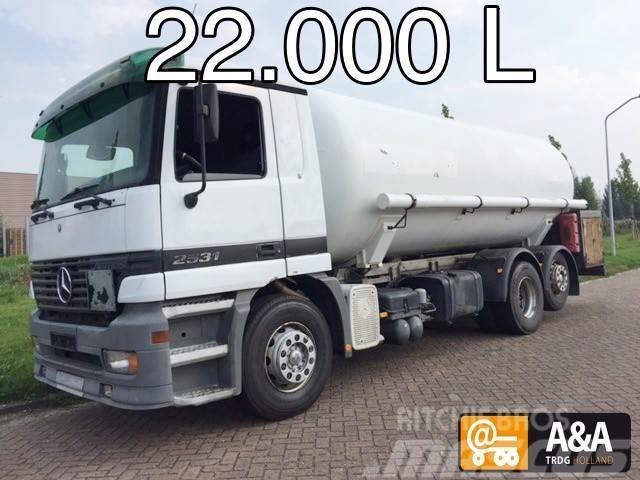 Mercedes-Benz Actros 2531 4x2 LPG GPL PROPANE (BUTANE) GAS GAZ 2