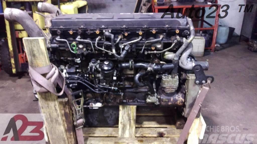 [Other] Silnik Euro5 MAN TGX TGS TGA D2066 Euro5 D20 E5 Si