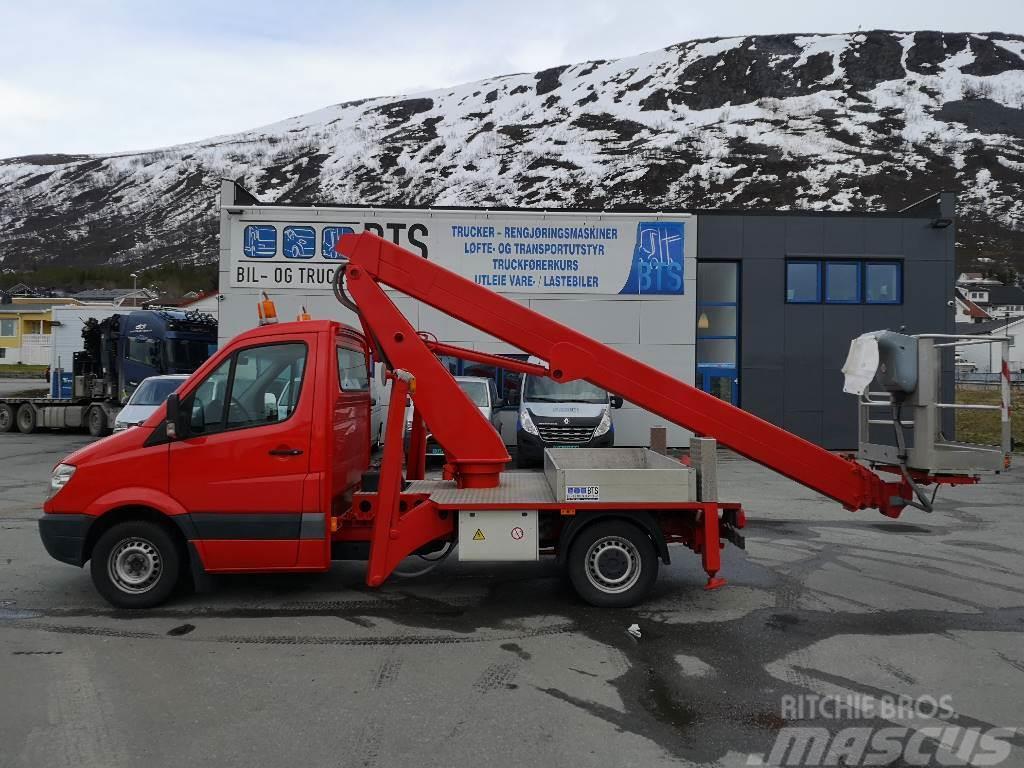 Mercedes-Benz Sprinter 313 CDI liftbil 22 m (Nannestad)