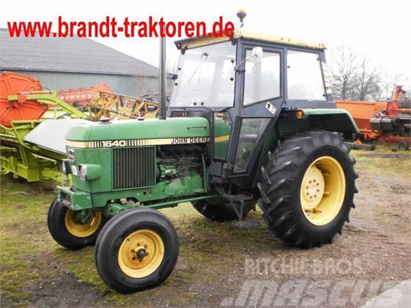 used john deere 1640 tractors year 1982 price 8 155 for. Black Bedroom Furniture Sets. Home Design Ideas
