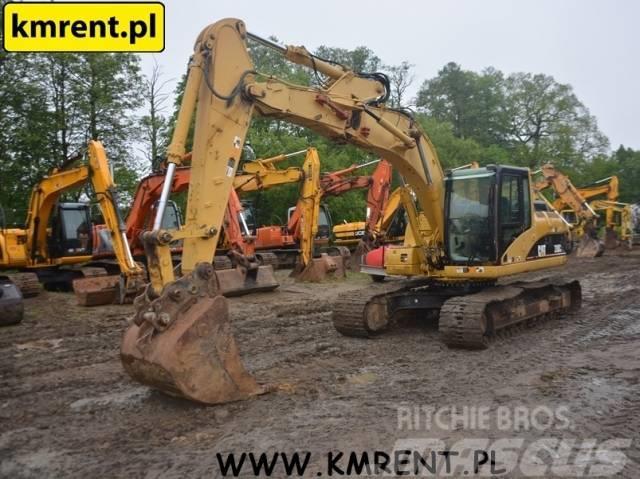 Caterpillar 318 C LIEBHERR R 906 FIAT HITACHI EX 165 JCB JS210