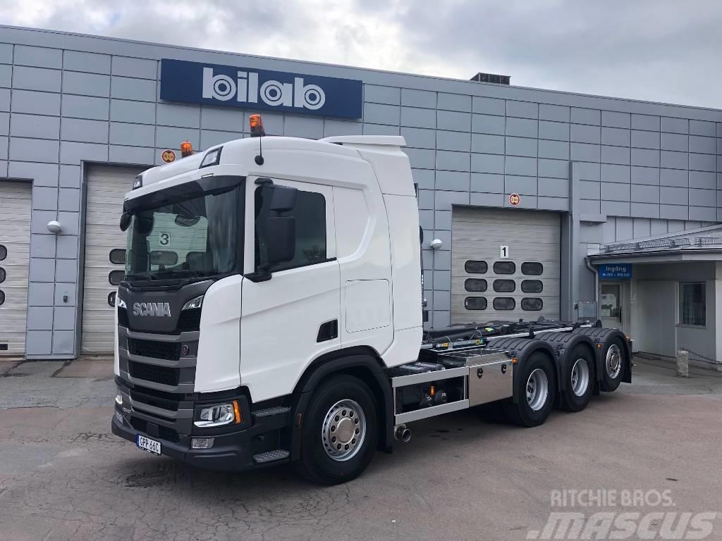 Scania R 540 8x4*4 Joab L24 Lastväxlare