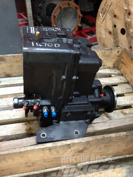 Timberjack 1470D Transfer gearbox LOK 110 F061001
