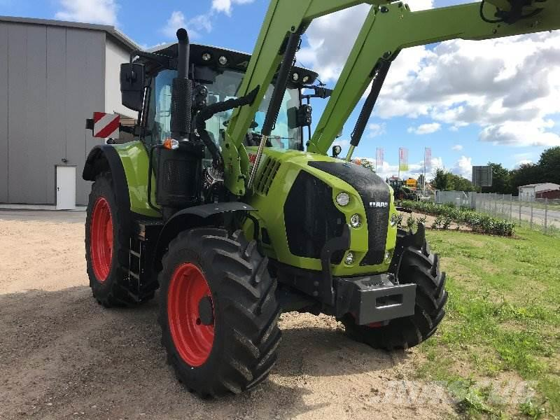 CLAAS Arion 510 CIS / Frontlader FL 120 CP