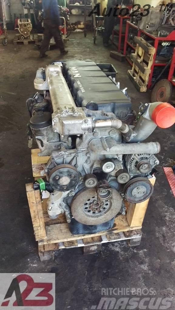 [Other] Silnik MAN D2066LF Euro4 Silnik TGX MAN D20 E4 MAN