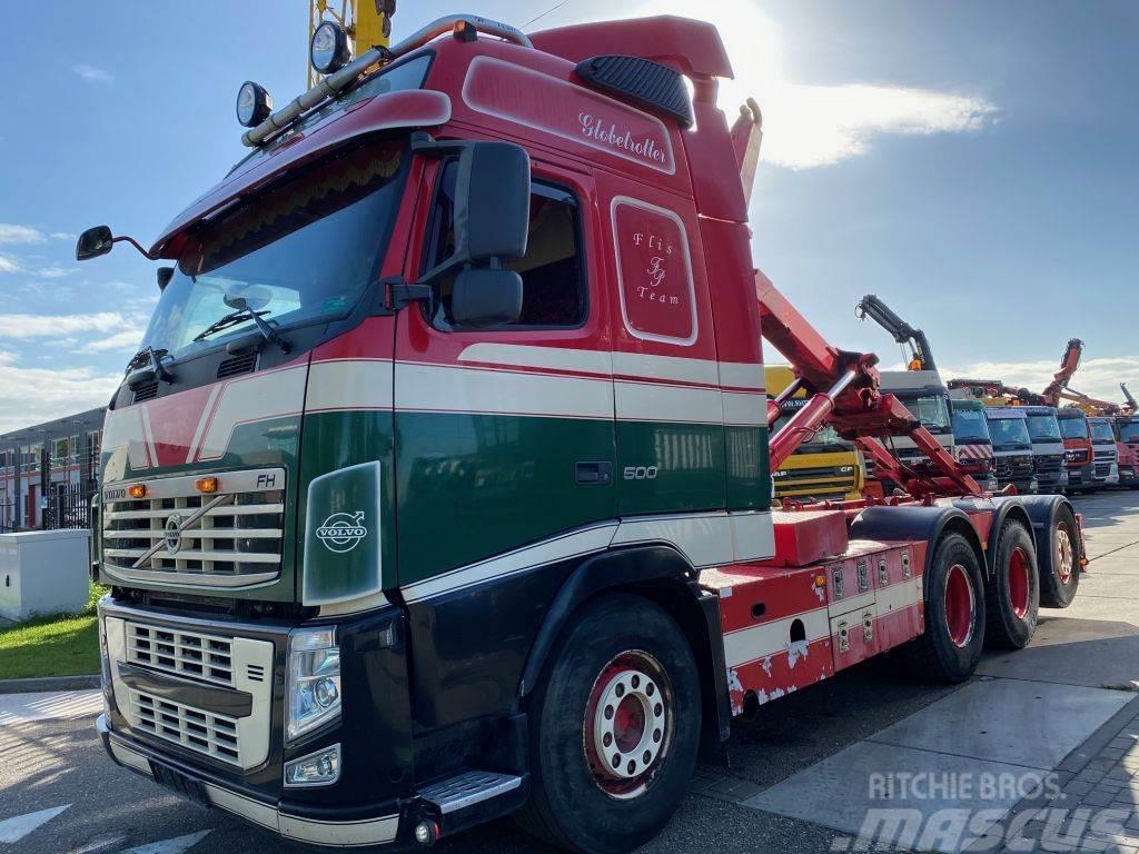 Volvo FH 13-500 8X4 EURO 5 + MULTILIFT HAAK 20 TON