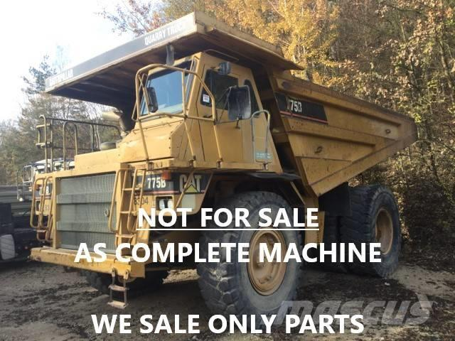 Caterpillar DUMPER 775B ONLY FOR PARTS