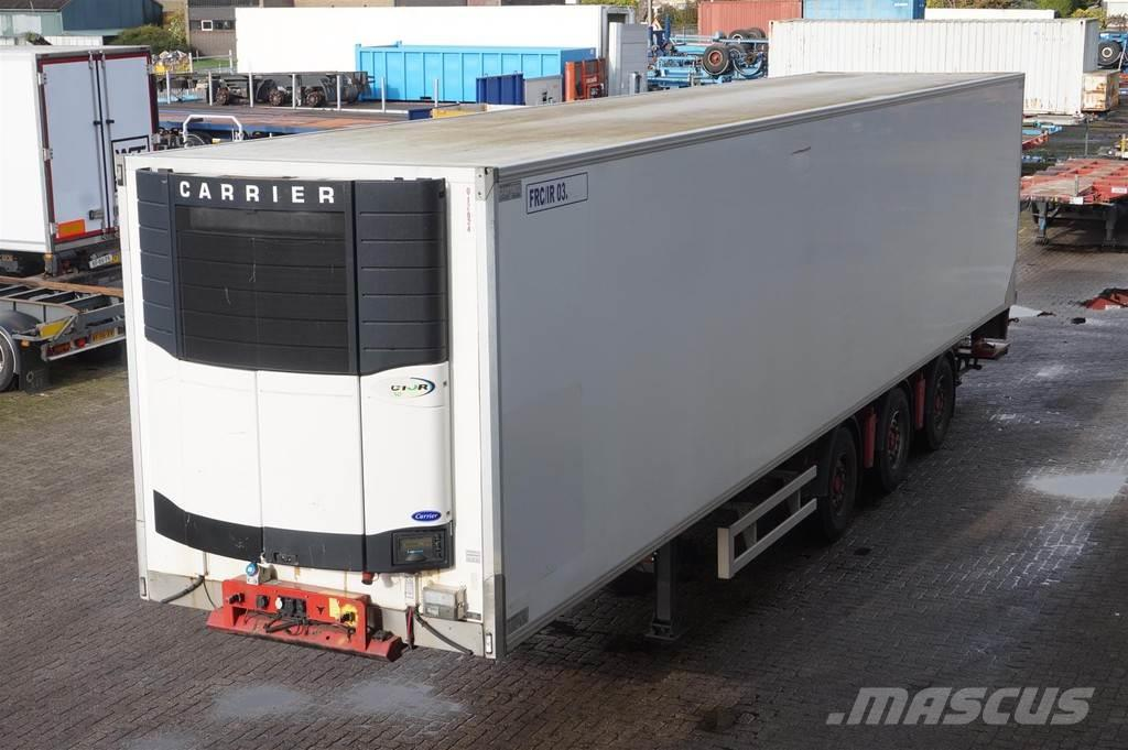 Renders Freezer trailer Carrier Vector 1850 / Tailgate Dho