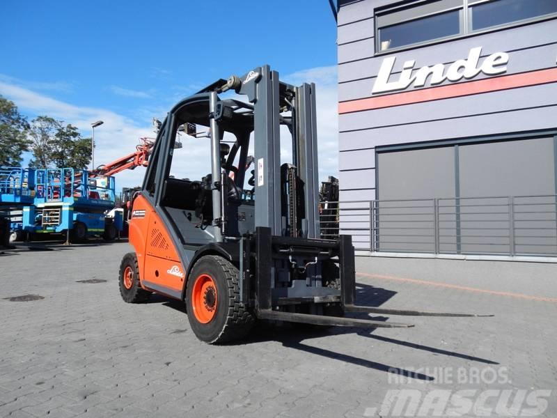 Linde H30T Triplex , side shift