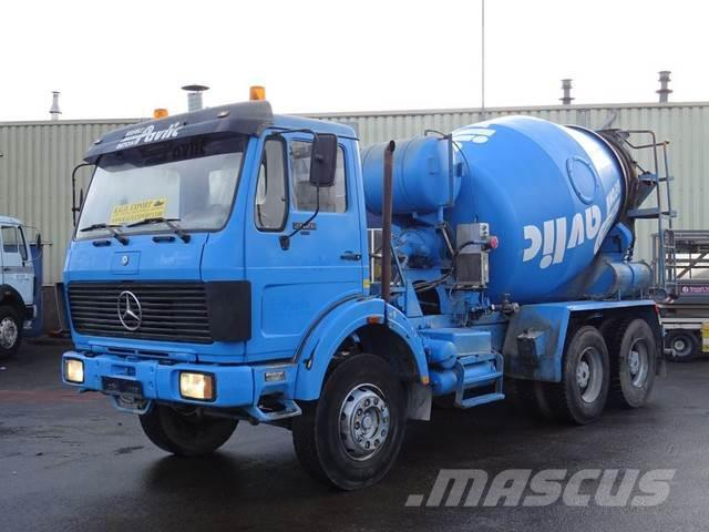 Mercedes-Benz 2628 Chassis 6x4 V8 ZF Good Condition