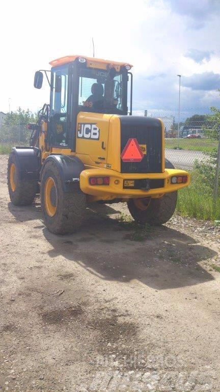 JCB 416 HT Lastare, SNÖUTRUSTAD, Uthyres