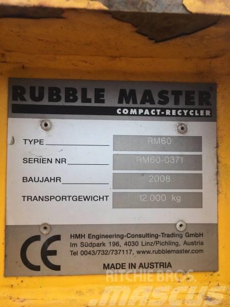 Rubble Master RM 60, 2008, Krossar
