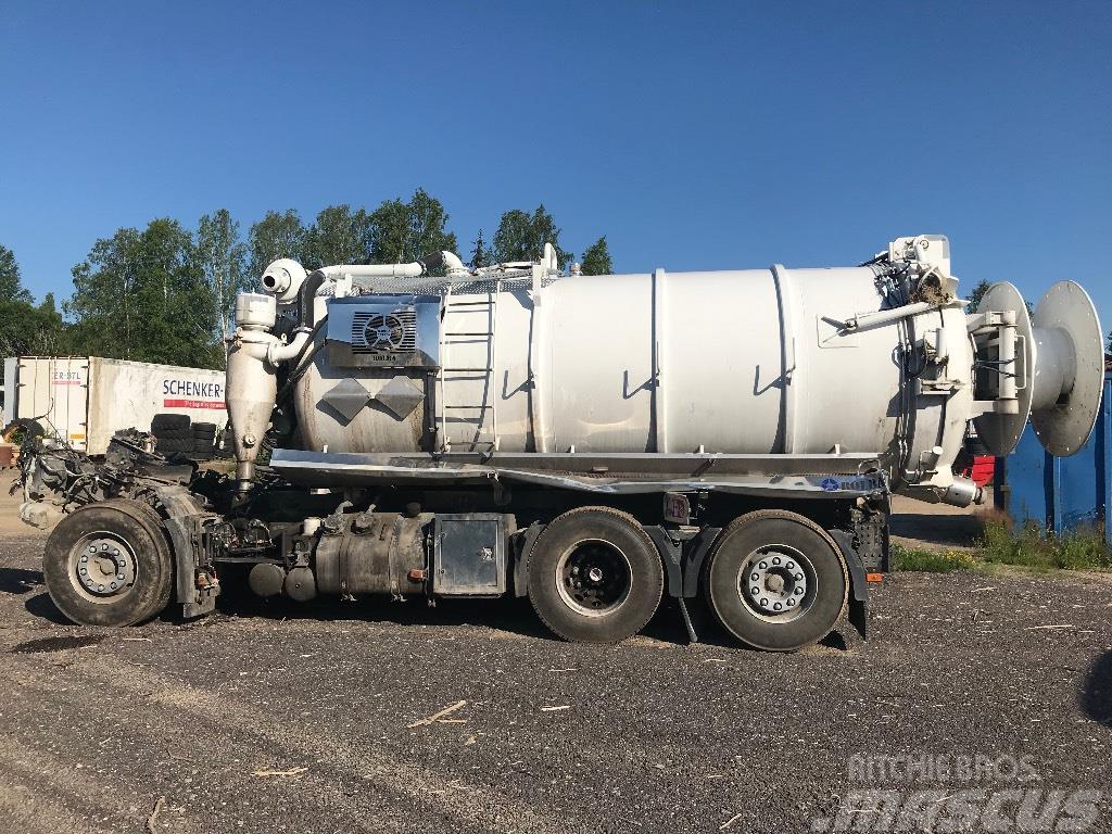 Volvo FM Rolba slamsug 2019 for parts
