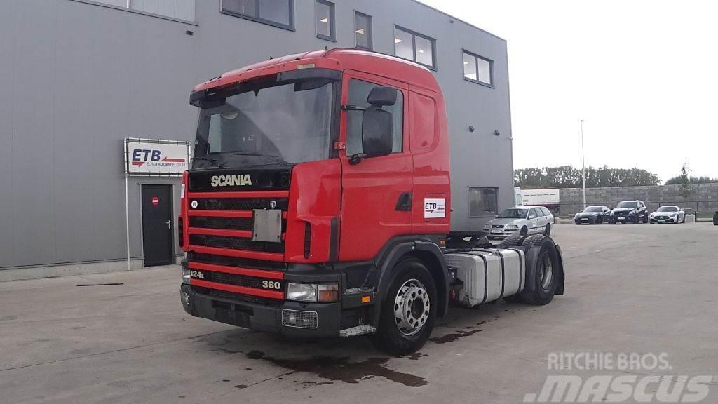 Scania L 124 - 360 (MANUAL PUMP & GEARBOX / POMPE & BOITE